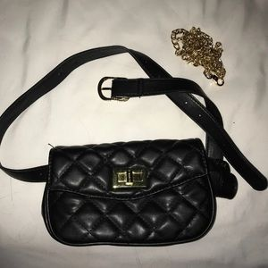 Interchangeable purse and fanny pack
